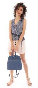 jean γυναικεία τσάντα πλάτης άνοιξη 2020