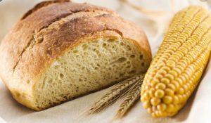 ψωμι με καλαμποκισιο αλευρι