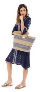 καλοκαιρινό ντύσιμο θαλάσσης τσάντα