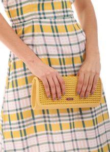 κίτρινη καθημερινή τσάντα φάκελος