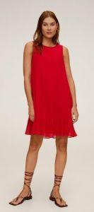 κόκκινο γυναικείο φόρεμα
