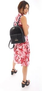 μαύρο γυναικείο backpack doca 2020
