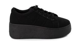 μαύρα δίπατα παπούτσια γυναικεία