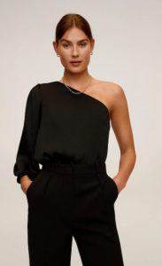 μαύρη μπλούζα γυναικεία