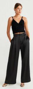 μαύρη γυναικεία παντελόνα