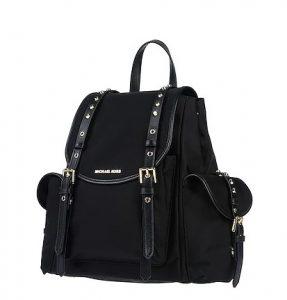 μαύρο backpack πλαϊνές τσέπες