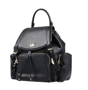 μαύρο δερμάτινο backpack τσάντες Michael Kors