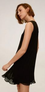 μαύρο αμάνικο φόρεμα