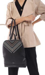 μεγάλη boho τσάντα πλάτης