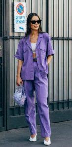μοβ καλοκαιρινά ρούχα