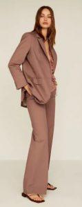 μοβ παστέλ γυναικείο παντελόνι