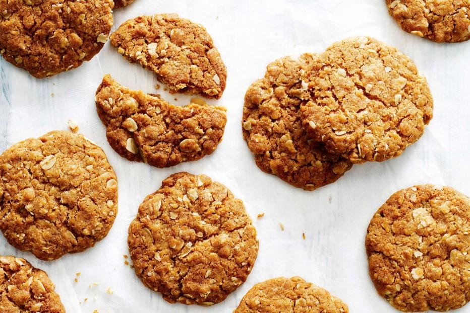 μπισκότα με βρώμη συνταγές σνακ δουλειά