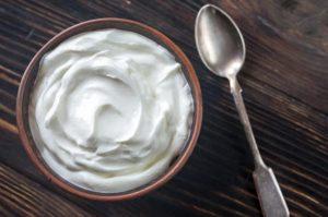 μπολ γιαούρτι κουτάλι τροφές διατηρήσεις σιλουέτα