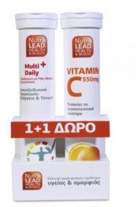 nutra lead multi βιταμίνη C