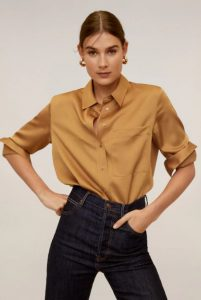 ώχρα πουκάμισο γυναικείο