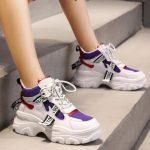 αθλητικά παπούτσια με χοντρό πάτο