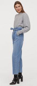 ανοιξιάτικο oversized jean παντελόνι