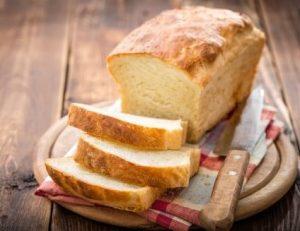 ψωμι σπιτικο ψημενο