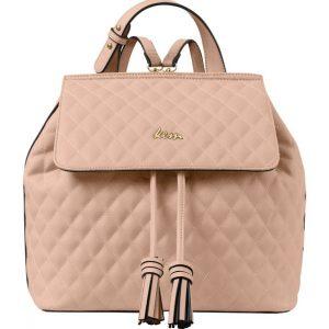 ροζ backpack καπιτονέ