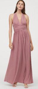 ροζ επίσημο φόρεμα καλοκαίρι 2020