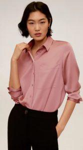 ροζ γυναικείο πουκάμισο