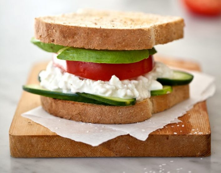 5 Απολαυστικά Σάντουιτς με τυρί Cottage!
