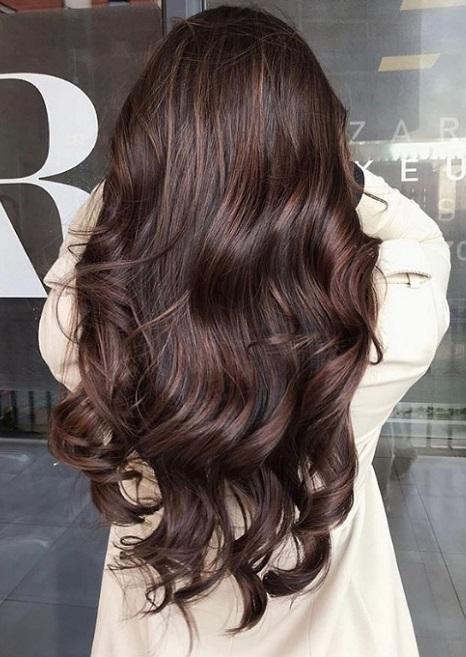 χρώμα μαλλιών καστανές
