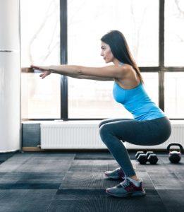 καθίσματα άσκηση γυμναστικής