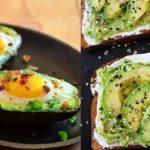 συνταγές για νόστιμο και υγιεινό πρωινό με αβοκάντο