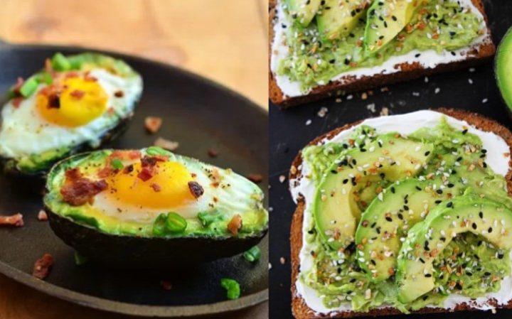 5 Ιδέες για εύκολο και υγιεινό πρωινό με αβοκάντο!