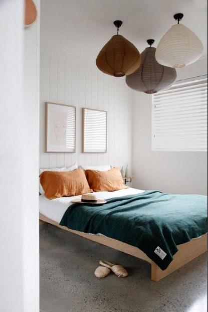 τρία φωτιστικά οροφής υπνοδωμάτιο tips όμορφη κρεβατοκάμαρα