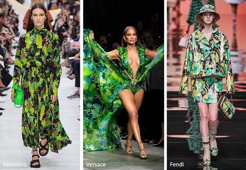 τροπικό μοτίβο στα γυναικεία ρούχα