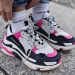 χρωματιστά αθλητικά παπούσια
