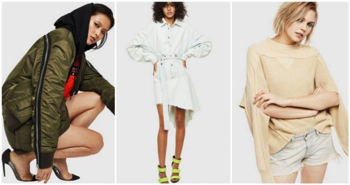 Νέα Γυναικεία Ρούχα Diesel Άνοιξη-Καλοκαίρι 2020