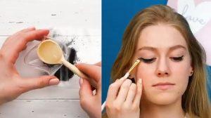 diy αδιάβροχο eyeliner σπιτικά υλικά