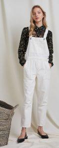 άσπρη γυναικεία jean σαλοπέτα