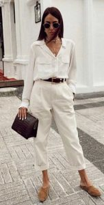 άσπρο ντύσιμο