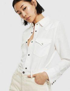 πουκαμισο λευκο ντιζελ