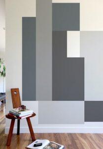 άσπρος γκρι τοίχος