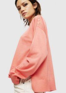 ροζ μπλουζα diesel