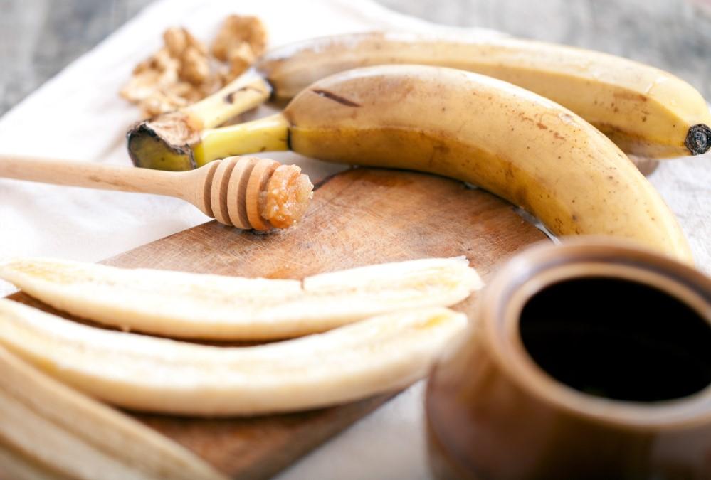 Μάσκα προσώπου από μπανάνα και μέλι