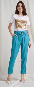γαλάζιο ελαστικό παντελόνι bsb
