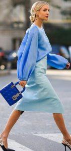 γαλάζιο ντύσιμο