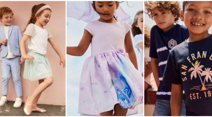 Παιδικά ρούχα H&M καλοκαίρι 2020