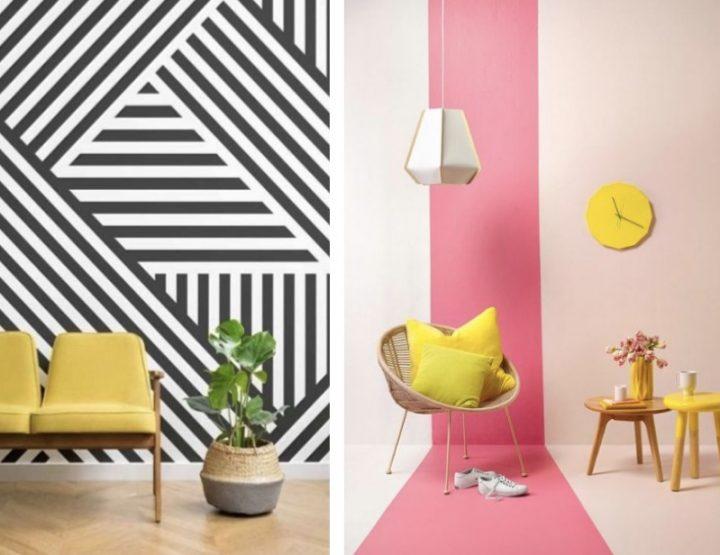 5 Πρωτότυποι τρόποι να βάψεις τους τοίχους του σπιτιού σου!