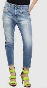 παντελονι jean ξεβαμμενο