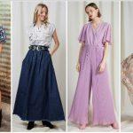 καλοκαιρινά φορέματα φούστες παντελόνια γυναικείες μπλούζες bsb 2020