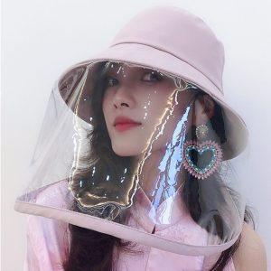 καπέλο πλαστικό προστατευτικό προσώπου