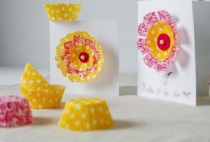 καρτες χειροποιητες Πασχαλινες με θηκες για γλυκα