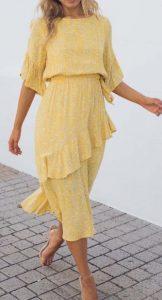 κίτρινο ανοιχτό ντύσιμο
